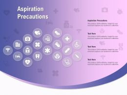 Aspiration Precautions Ppt Powerpoint Presentation File Gallery