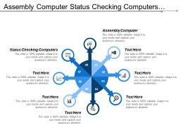 Assembly Computer Status Checking Computers Update Database Electrical Testing