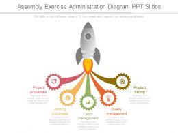 Assembly Exercise Administration Diagram Ppt Slides