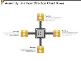 Assembly Line Four Direction Chart Boxes
