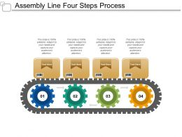 Assembly Line Four Steps Process