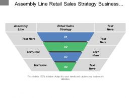 Assembly Line Retail Sales Strategy Business Technology Competitive Analysis
