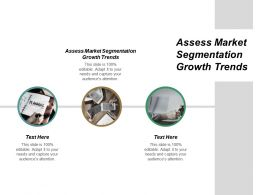 Assess Market Segmentation Growth Trends Ppt Powerpoint Presentation Gallery Example Cpb