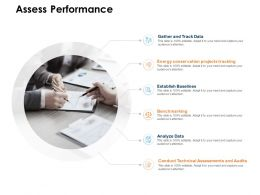Assess Performance Analyze Data Ppt Powerpoint Presentation Gallery