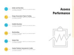 Assess Performance Analyze Data Ppt Powerpoint Presentation Model Elements