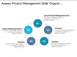 Assess Product Management Skills Organic Marketing Analytics Operations Services Cpb