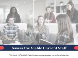 Assess The Viable Current Staff Ppt Powerpoint Presentation Diagram Lists