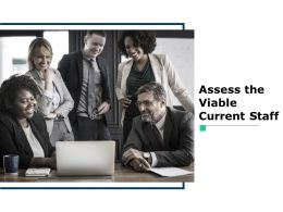 Assess The Viable Current Staff Ppt Powerpoint Presentation File Inspiration