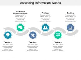 Assessing Information Needs Ppt Powerpoint Presentation Layouts Slide Cpb