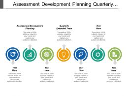 Assessment Development Planning Quarterly Extended Team Monthly Action Plan