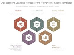 Assessment Learning Process Ppt Powerpoint Slides Templates