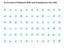 Assessment Of Employee Skills And Competencies Icon Slide Target K254 Ppt Slides