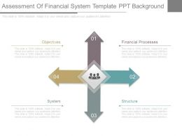 Assessment Of Financial System Template Ppt Background