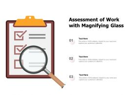 Assessment Of Work With Magnifying Glass