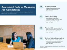 Assessment Tools For Measuring Job Competency