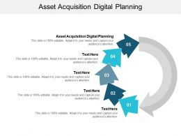 Asset Acquisition Digital Planning Ppt Powerpoint Presentation Ideas Backgrounds Cpb