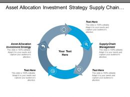 Asset Allocation Investment Strategy Supply Chain Management Financial Management Cpb