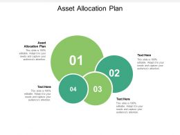 Asset Allocation Plan Ppt Powerpoint Presentation Icon Gallery Cpb