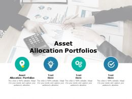 Asset Allocation Portfolios Ppt Powerpoint Presentation Pictures Portfolio Cpb