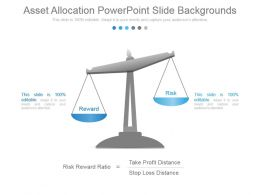 Asset Allocation Powerpoint Slide Backgrounds