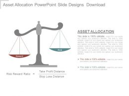 Asset Allocation Powerpoint Slide Designs Download