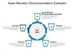 Asset Allocation Recommendations Examples Ppt Powerpoint Presentation Ideas Cpb