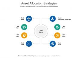 Asset Allocation Strategies Ppt Powerpoint Presentation Slides Template Cpb