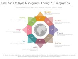 Asset And Life Cycle Management Pricing Ppt Infographics