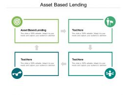 Asset Based Lending Ppt Powerpoint Presentation Slides Example Topics Cpb