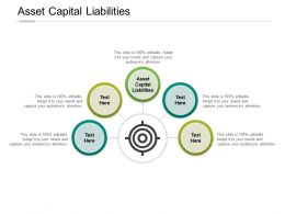 Asset Capital Liabilities Ppt Powerpoint Presentation Gallery Format Ideas Cpb