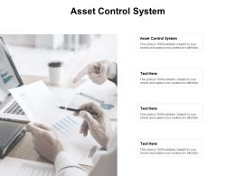 Asset Control System Ppt Powerpoint Presentation Slides Visuals Cpb