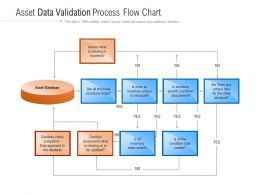 Asset Data Validation Process Flow Chart