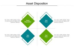 Asset Disposition Ppt Powerpoint Presentation File Display Cpb