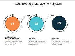 Asset Inventory Management System Ppt Powerpoint Presentation Visuals Cpb