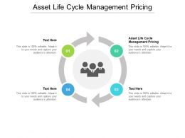 Asset Life Cycle Management Pricing Ppt Powerpoint Presentation Icon Clipart Images Cpb