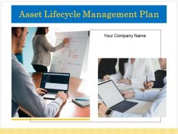 Asset Lifecycle Management Plan Powerpoint Presentation Slides