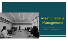 Asset Lifecycle Management Powerpoint Presentation Slides