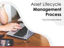 Asset Lifecycle Management Process Powerpoint Presentation Slides