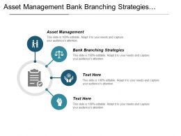 Asset Management Bank Branching Strategies Operational Services Cpb