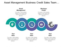 Asset Management Business Credit Sales Team Vision Statement