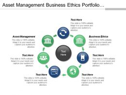 Asset Management Business Ethics Portfolio Management Risk Assessment Cpb