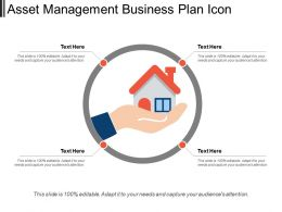 Asset Management Business Plan Icons