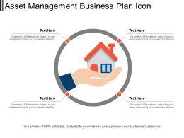 Asset Management Business Plan Icons