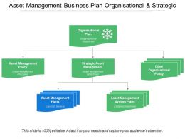Asset Management Business Plan Organisational And Strategic