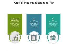 Asset Management Business Plan Ppt Powerpoint Presentation Ideas Format Cpb