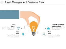 Asset Management Business Plan Ppt Powerpoint Presentation Pictures Grid Cpb