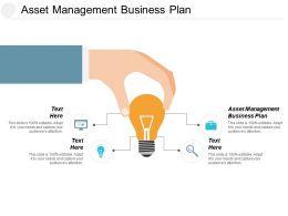 Asset Management Business Plan Ppt Powerpoint Presentation Pictures Grid Cpb