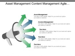 Asset Management Content Management Agile Development Data Centre Cpb