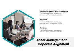 Asset Management Corporate Alignment Ppt Powerpoint Presentation Model Slide Download Cpb