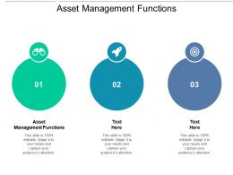 Asset Management Functions Ppt Powerpoint Presentation Pictures Background Cpb